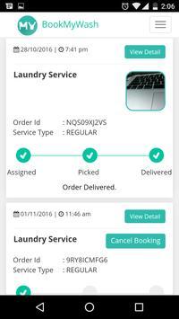 BookMyWash - laundry services screenshot 4