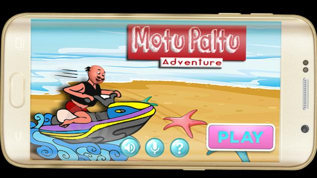 Super motu patlu Adventure poster