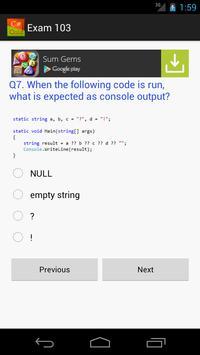 C# Quiz screenshot 1