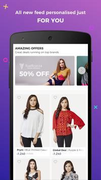 Fynd - Online Shopping App Cartaz