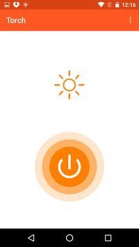 Torch - Tiny bright flashlight apk screenshot