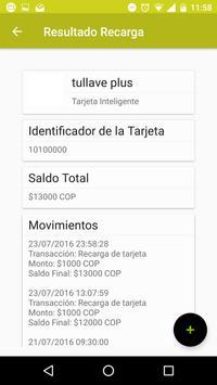 SITP / tullave apk screenshot