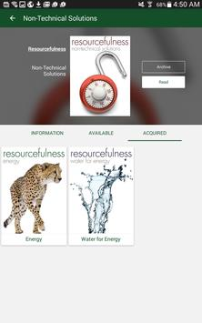 Resourcefulness apk screenshot