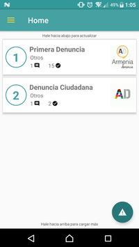 Armenia Denuncia apk screenshot