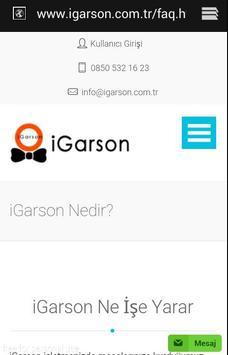 İGARSON screenshot 1