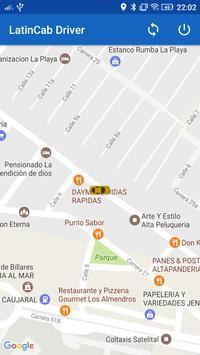 LatinCab Driver apk screenshot
