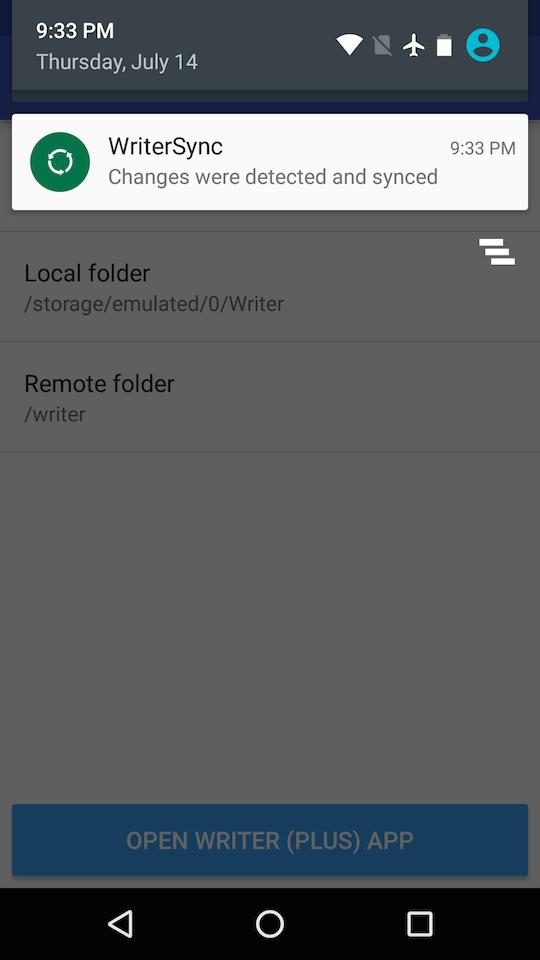 Writer Sync (Google Drive) for Android - APK Download