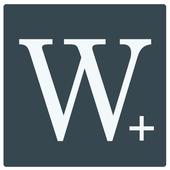 Writer Plus (Write On the Go)-icoon