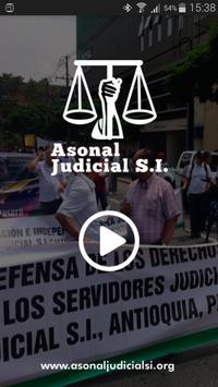 Radio ASONAL JUDICIAL SI poster