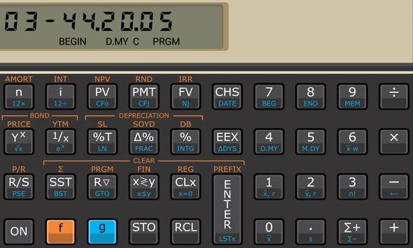 Touch Fin Calculator (free) poster