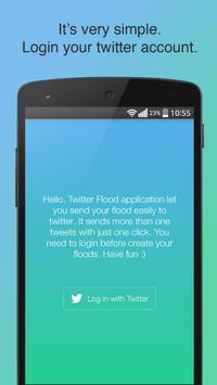 Flood For Twitter poster
