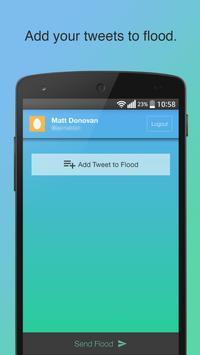 Flood For Twitter apk screenshot