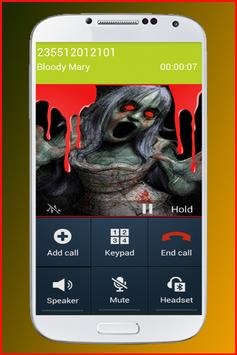 Calling From Bloody Mary apk screenshot