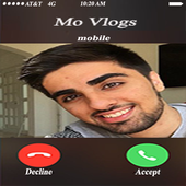Fake Call From Mo Vlogs icon