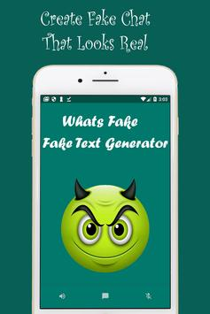 Whats Fake Chat Maker Create fake text message poster