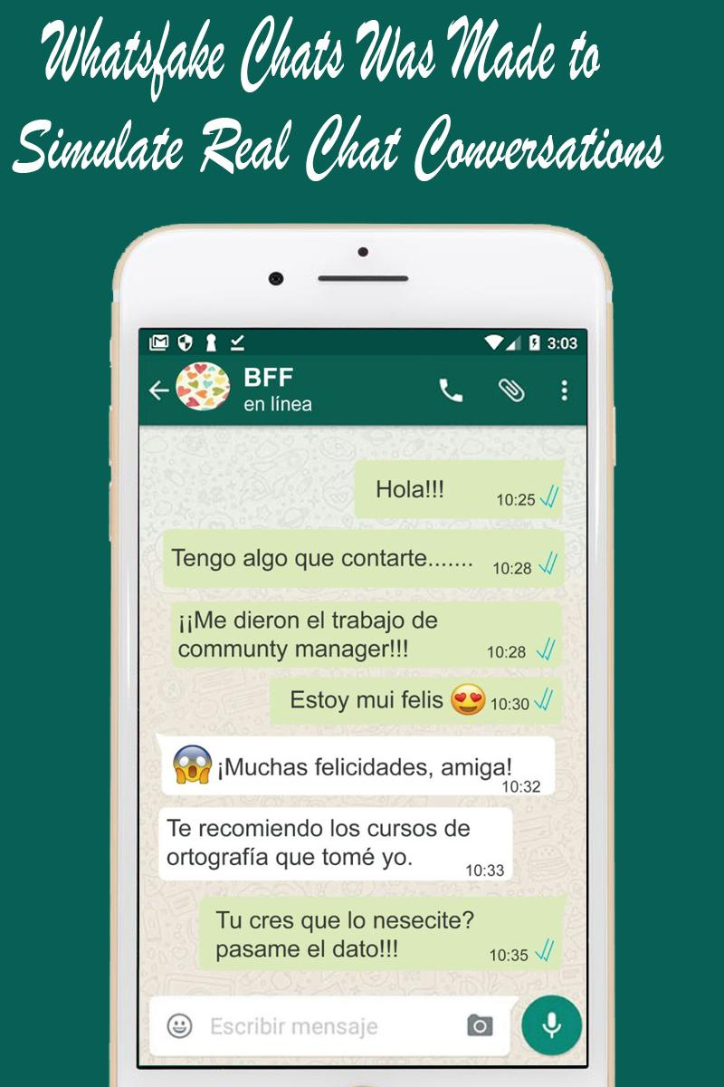 Whats Fake Text Generator Chat Conversation Maker para Android - APK