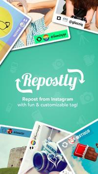 Repost for Instagram: Repostly الملصق