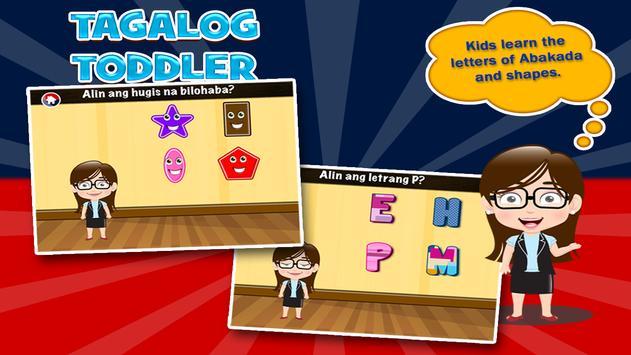 Tagalog Toddler Games for Kids apk screenshot
