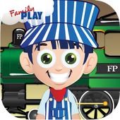 Train Puzzles for Kids icon