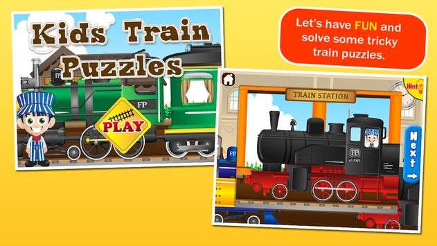 Train Puzzles for Kids apk screenshot