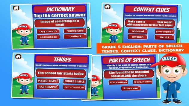 Trucks Fifth Grade Learning screenshot 11