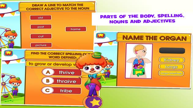 Circus fourth grade games apk download free educational game for circus fourth grade games apk screenshot ccuart Gallery