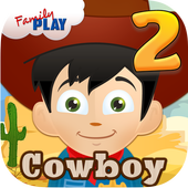 Cowboy Learning Games Grade 2 icon