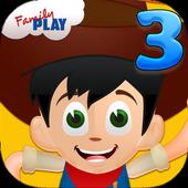 Cowboy Kids Third Grade Games icon