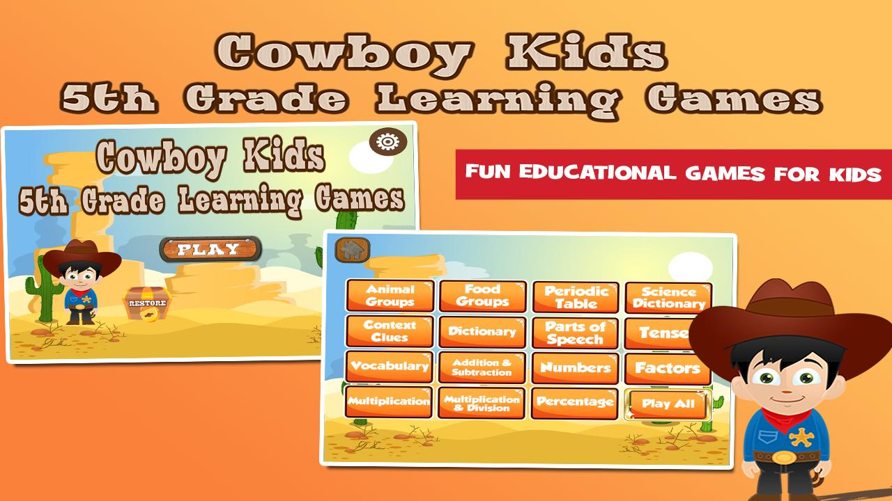 5th Grade Learning Games for Android - APK Download