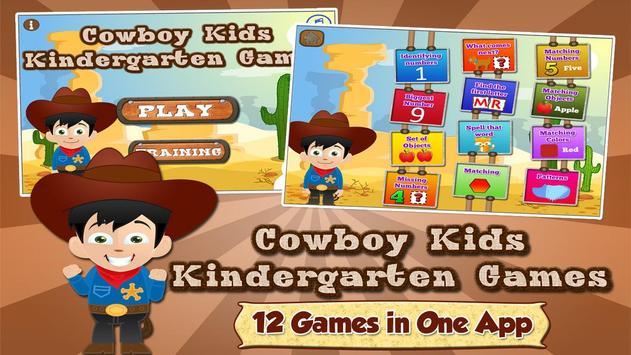 Kindergarten Learning Games poster
