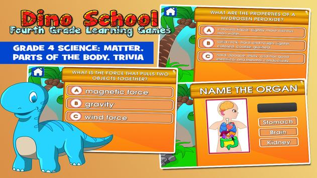 Dino 4th grade learning games apk download free educational game dino 4th grade learning games apk screenshot ccuart Gallery
