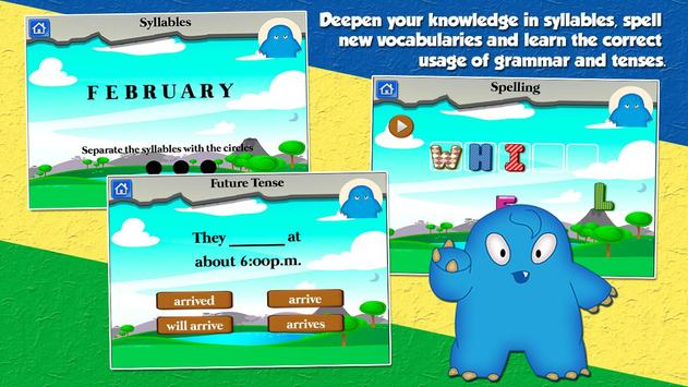 Monster School Grade 3 Games apk screenshot
