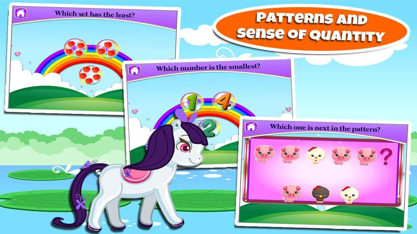 Fun Kindergarten Games: Pony APK Download - Free Educational GAME ...