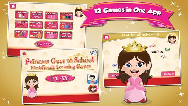 Princess First Grade Games poster