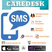 CAREDESK SMS icon