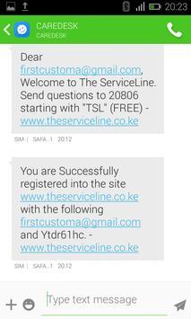 CAREDESK SMS screenshot 3