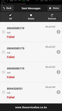 CAREDESK SMS screenshot 6