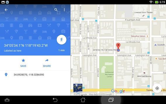 Simple GPS Coordinate Display screenshot 12
