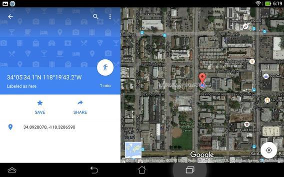 Simple GPS Coordinate Display screenshot 13