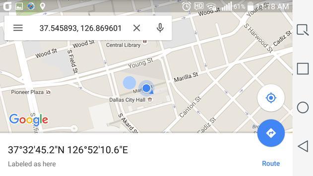 Simple GPS Coordinate Display screenshot 5