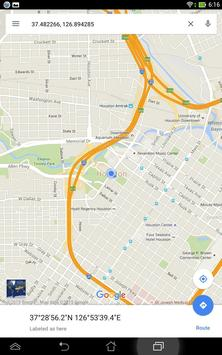 Simple GPS Coordinate Display screenshot 8