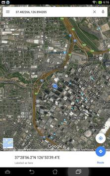 Simple GPS Coordinate Display screenshot 9