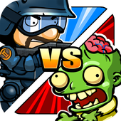 SWAT and Zombies - Defense & Battle icon