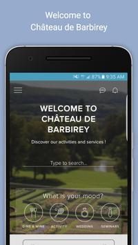 Chateau de Barbirey poster