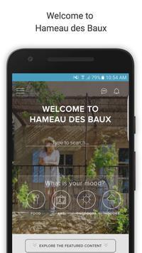 Hameau des Baux poster