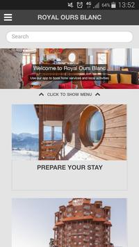 Hotel Royal Ours Blanc poster