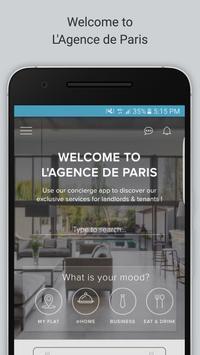 L'Agence de Paris poster