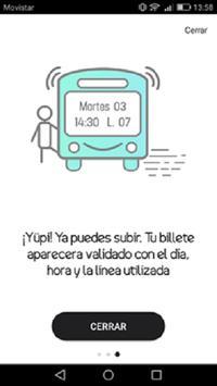 Yupi:  Alicante Bus pago y recarga imagem de tela 3