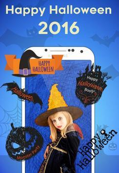 Halloween Stickers MakeUp 2016 apk screenshot