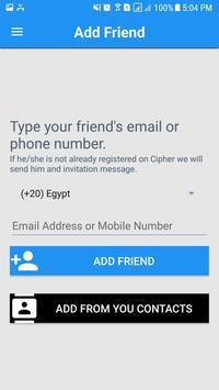 Cipher screenshot 1
